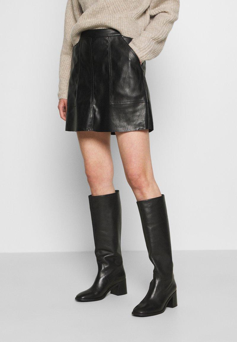 Vero Moda - VMSYLVIA SKIRT - A-line skirt - black