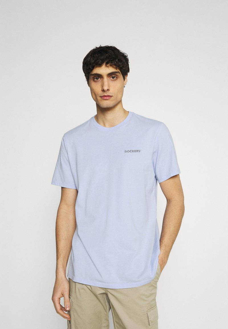 DOCKERS - LOGO TEE - Print T-shirt - frosted lilac