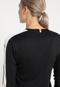 Craft - PROGRESS CONTRAST - Camiseta de deporte - black/white - 3