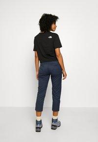 The North Face - WOMEN'S APHRODITE CAPRI - Pantalons outdoor - urban navy - 2