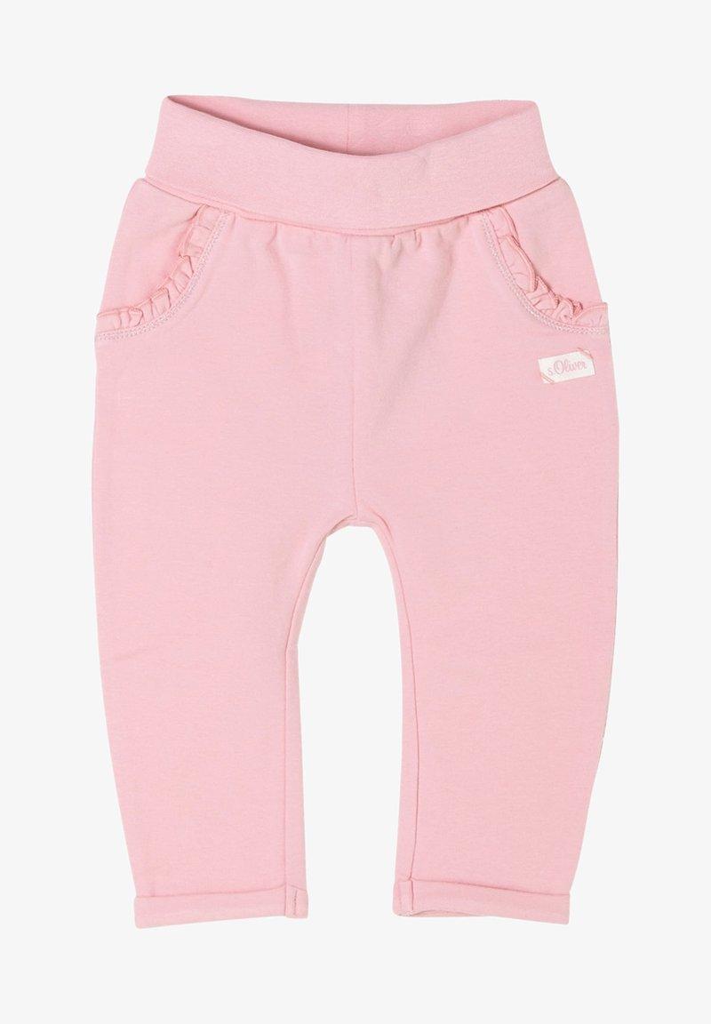 s.Oliver - Tracksuit bottoms - pink