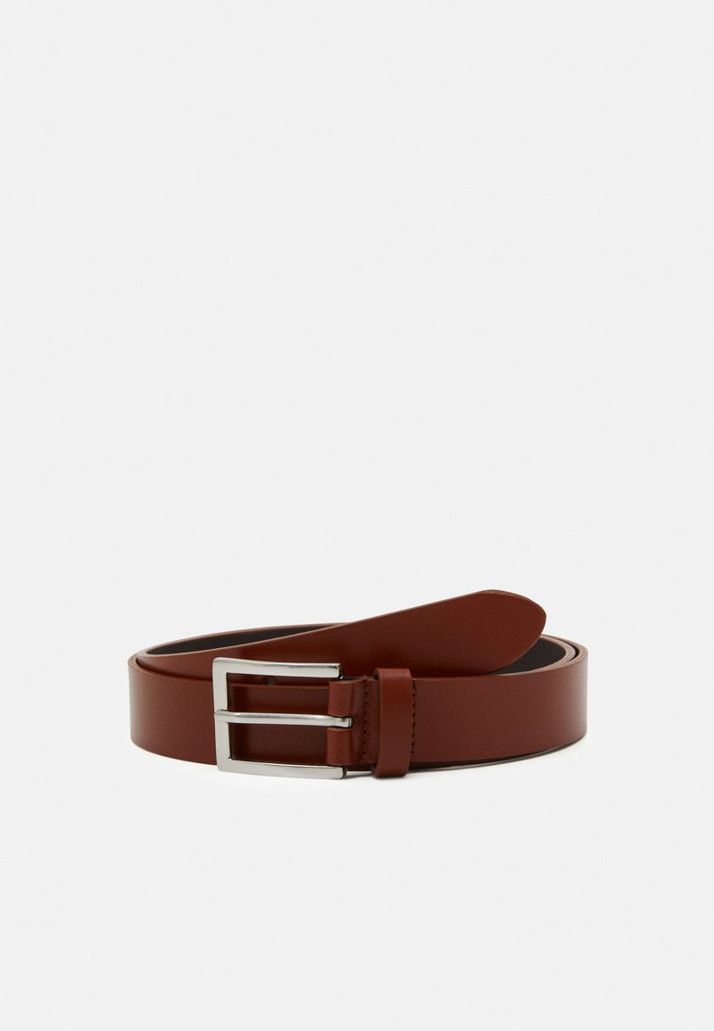 Pier One - LEATHER - Cintura - cognac
