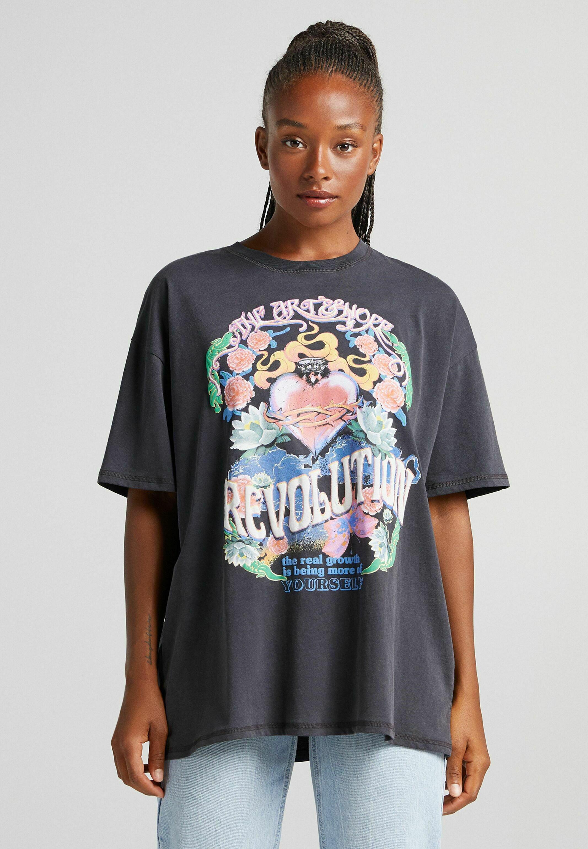Femme MIT HERZPRINT - T-shirt imprimé