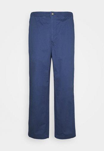 FLAT PANT - Trousers - rustic navy