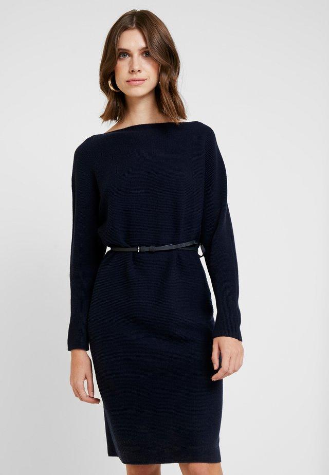 TONE DRESS - Robe pull - navy