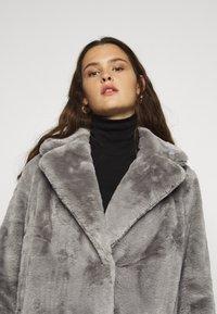 New Look Curves - WILLOW ECOM - Winter coat - dark grey - 3