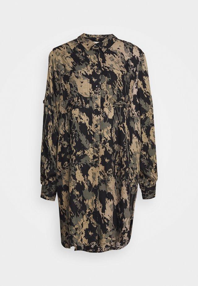 KAHODO BIG - Button-down blouse - grape leaf