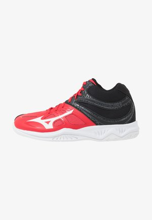 THUNDER BLADE 2 MID - Volleyball shoes - tomato/white/black
