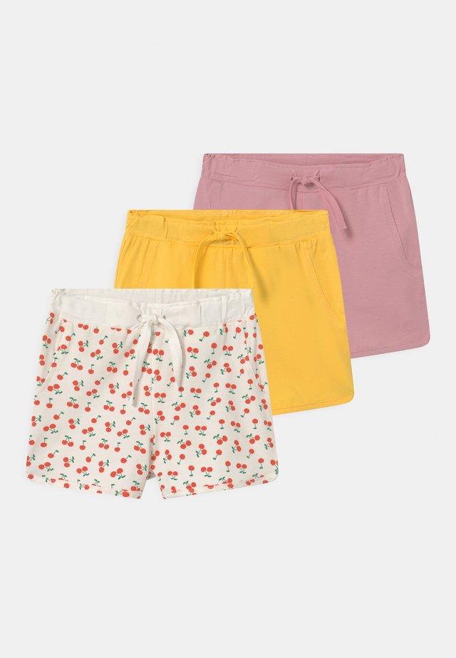 NMFDENKA 3 PACK - Shorts - pink nectar
