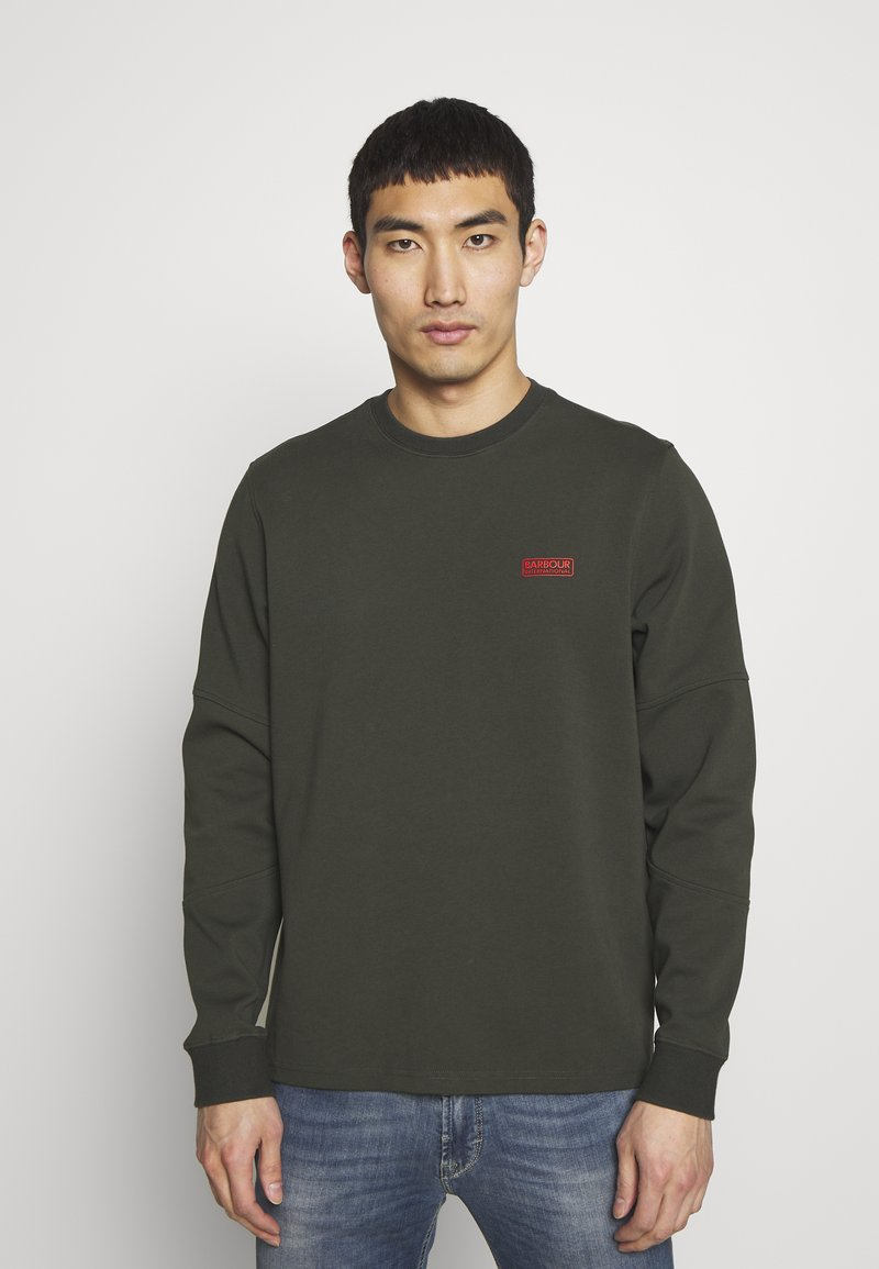 Barbour International - TEE - Long sleeved top - jungle green