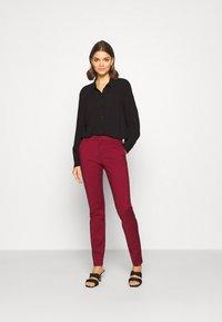 JDY - Button-down blouse - black - 1