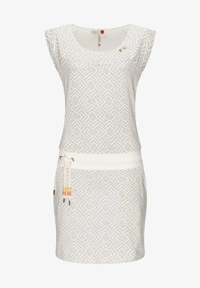 Korte jurk - weiß