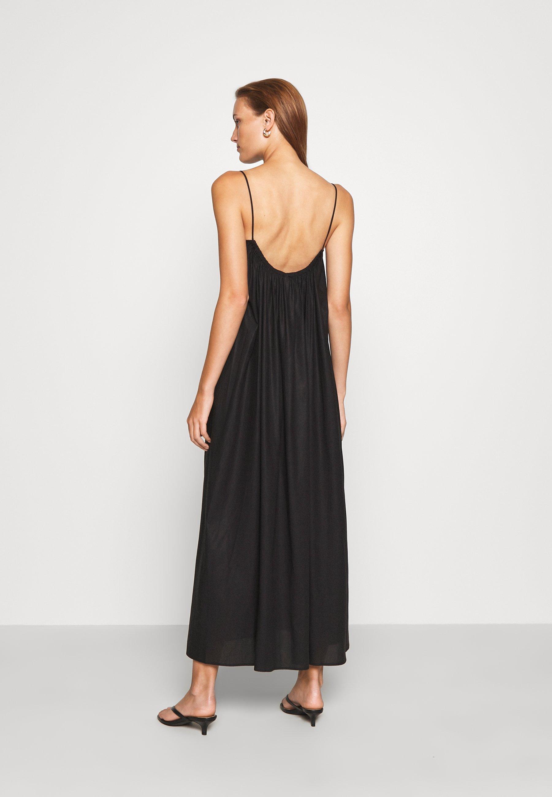 ARKET DRESS Freizeitkleid black dark/schwarz