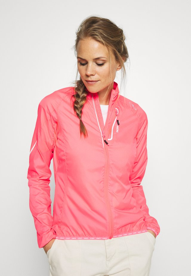 WOMAN TRAIL JACKET - Veste de running - gloss
