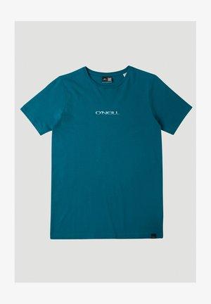 RETRO SUNSET - T-shirt imprimé - moroccan blue