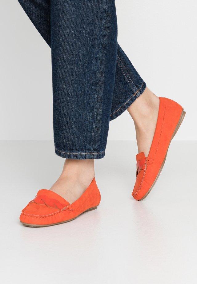 Mocassins - orange