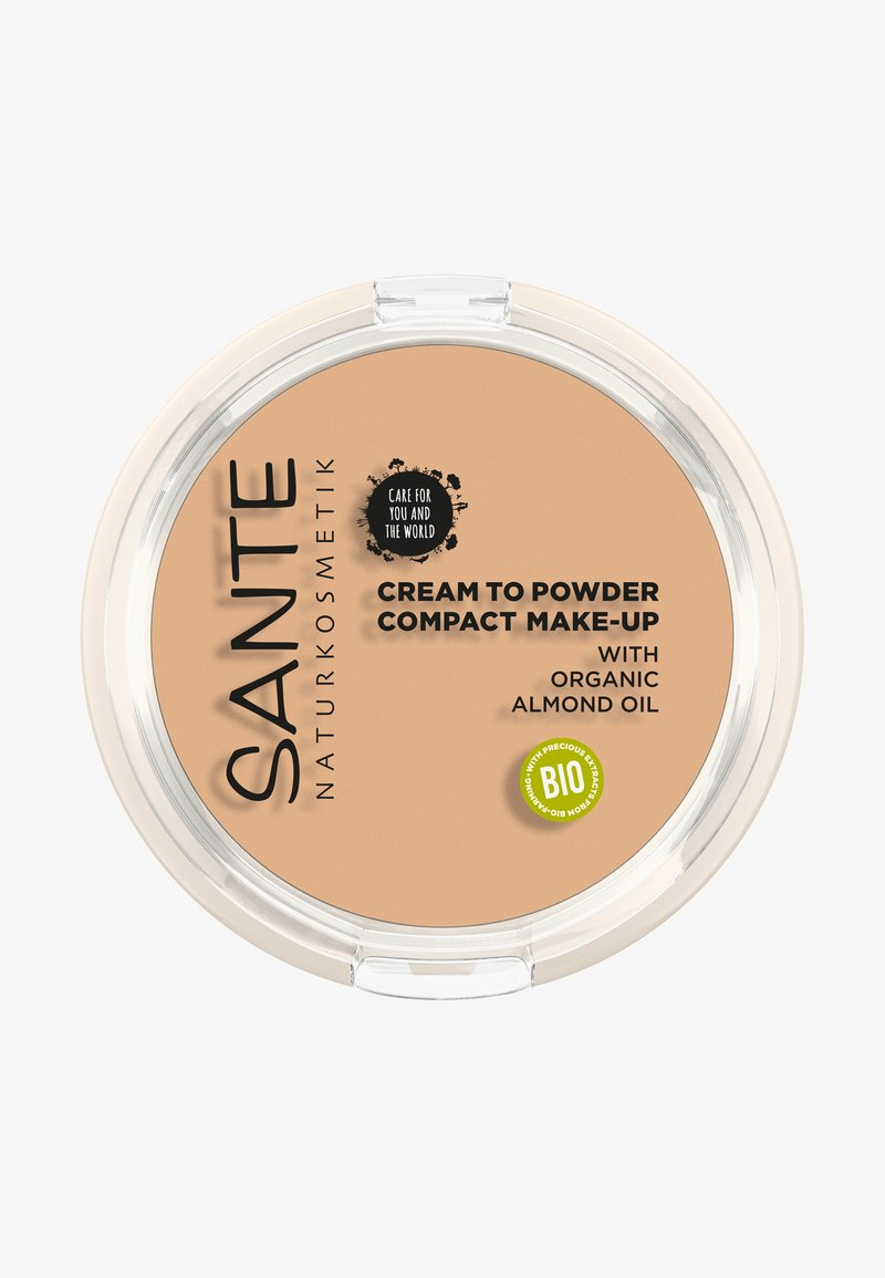 Sante - COMPACT MAKE-UP CREAM TO POWDER - Foundation - 01 cool ivory