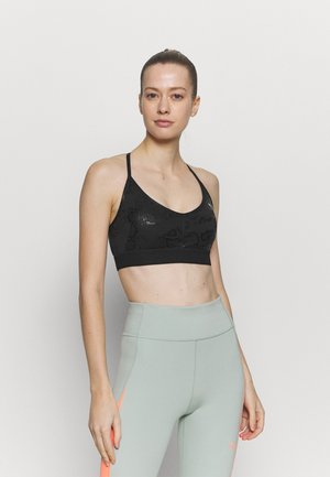 TRAIN UNTMD LOW IMPACT BRA - Light support sports bra - black