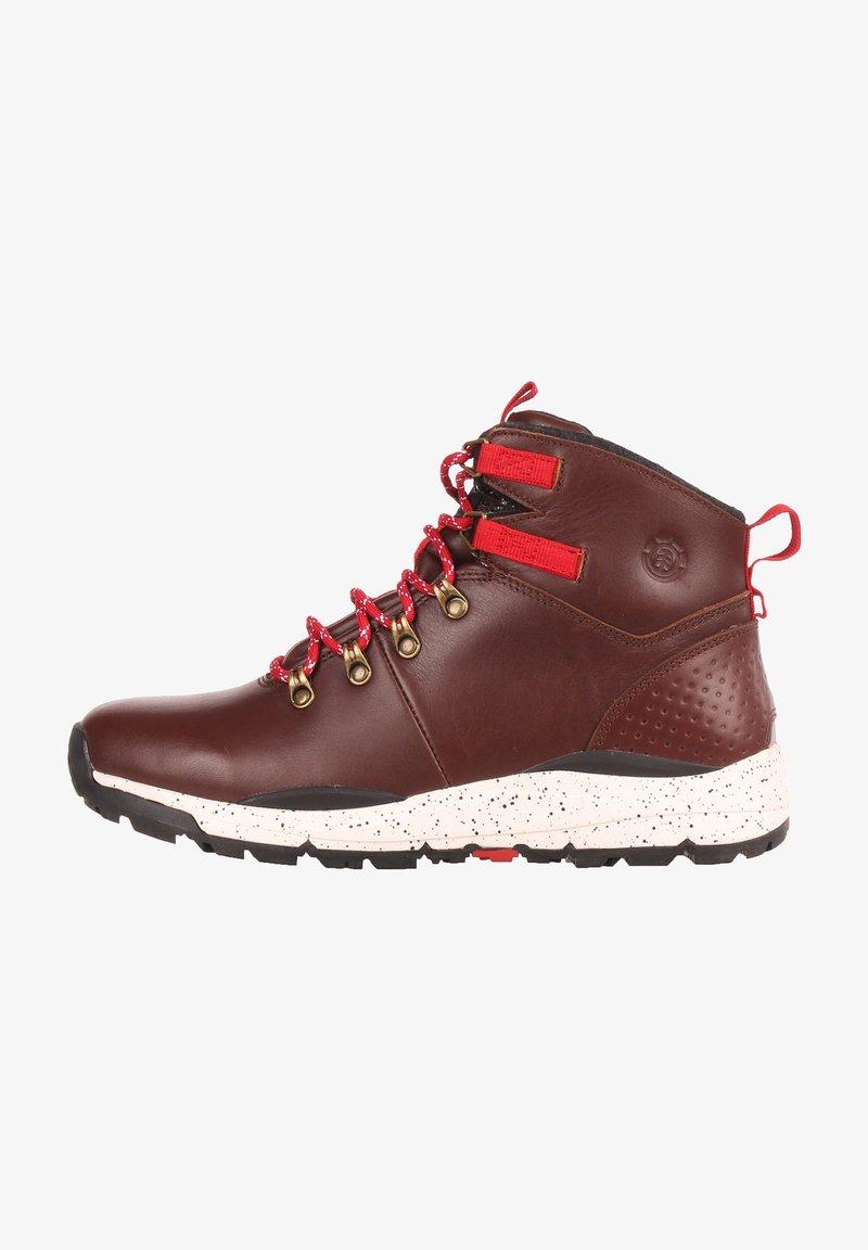 Element - MONDE - Lace-up ankle boots - walnut