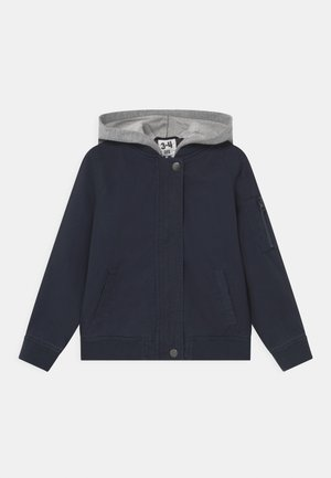 STAPLE HOODED - Allvädersjacka - navy blazer