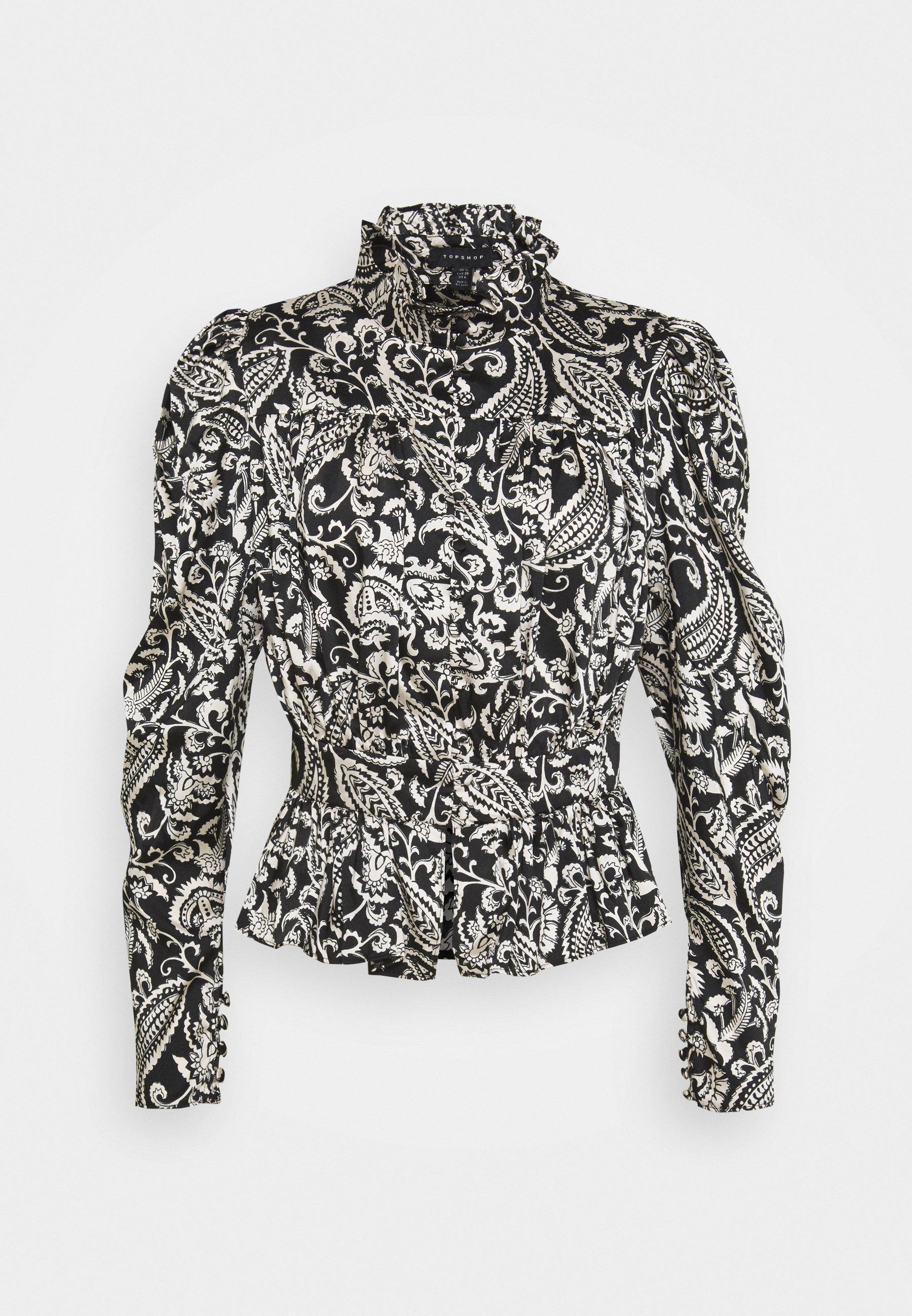 Women IDOL MONO BLOUSE - Button-down blouse