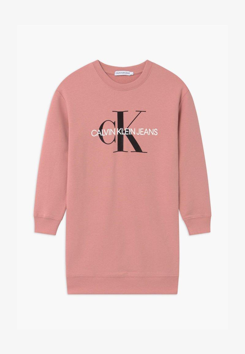 Calvin Klein Jeans - MONOGRAM SHINE - Vestito estivo - pink