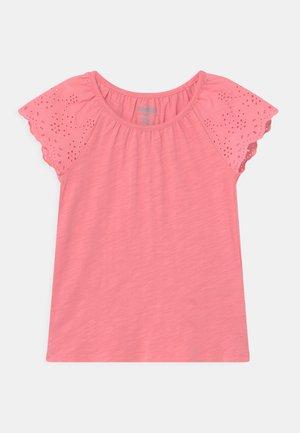 TIE HEM - Print T-shirt - pink