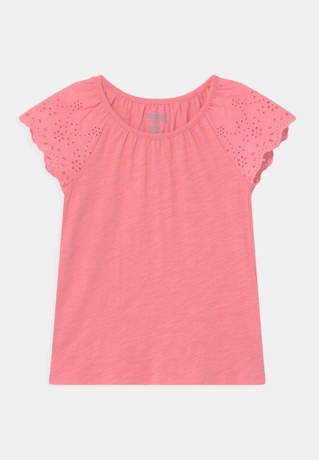 TIE HEM - Camiseta estampada - pink