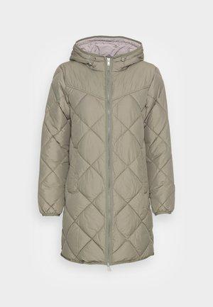 DIAMCOAT - Short coat - light khaki