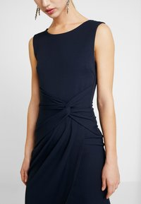 WAL G. - KNOT MAXI DRESS WITH SPLIT - Robe de cocktail - navy - 6