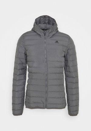 VARILITE SOFT HOODED - Down jacket - dark grey
