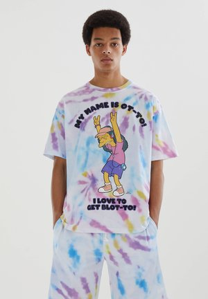 SIMPSONS - Print T-shirt - mauve