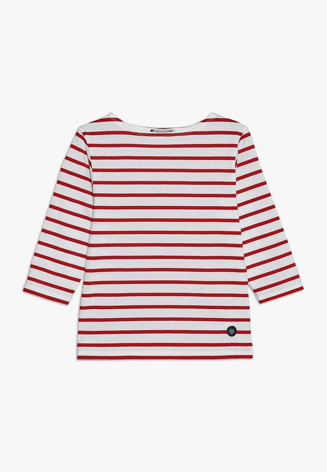 MARINIERE - Langærmede T-shirts - blanc/braise