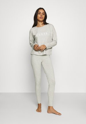 LONG - Pyjamaser - light heather grey
