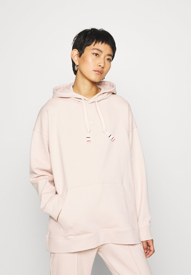 Tommy Hilfiger - CINDY RELAXED HOODIE - Sweat à capuche - cameo