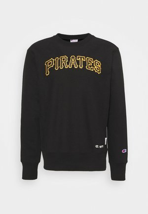 MLB PREMIUMPITTSBURGH PIRATES CREWNECK - Mikina - black