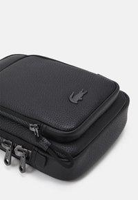 Lacoste - SOFT MATE - Across body bag - black - 3
