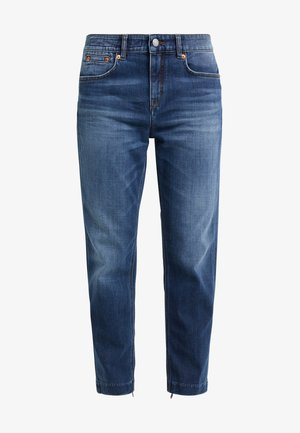 PASS - Džíny Slim Fit - dark blue wash
