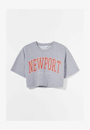 MIT PRINT - T-shirt med print - light grey