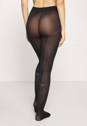 GLITTER BLOW TIGHT STYLE - Tights - black