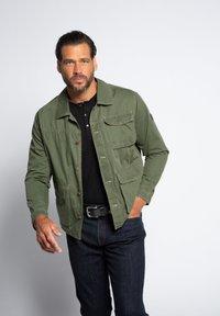 JP1880 - Denim jacket - khaki - 0