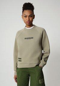 Napapijri - Sweatshirt - silver sage - 0