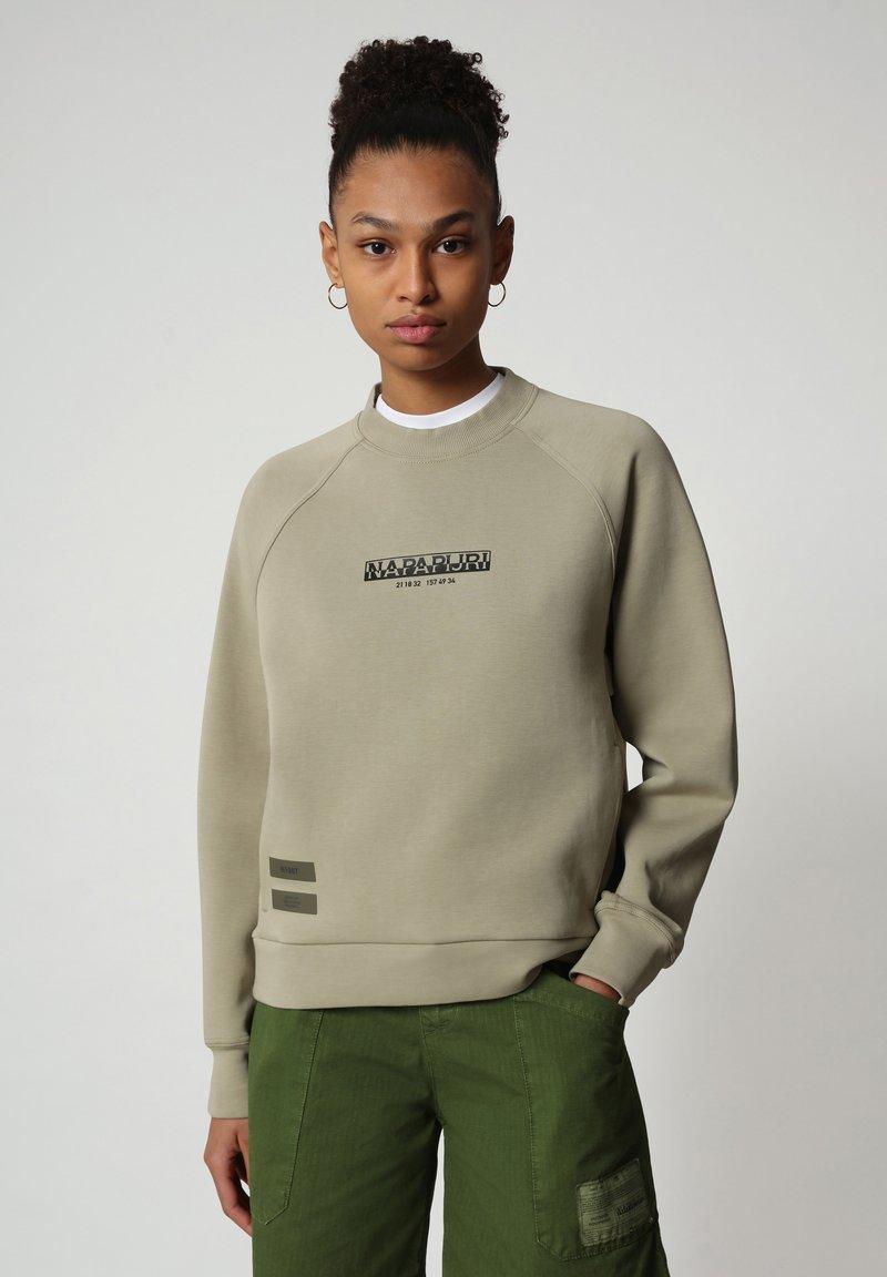 Napapijri - Sweatshirt - silver sage