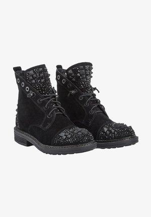 DAMARA - Lace-up ankle boots - black