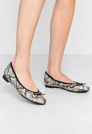 COUTURE BLOOM - Ballet pumps - grey