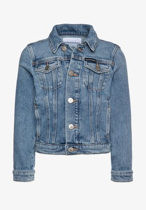 GIRLS TRUCKER  - Denim jacket - blue denim
