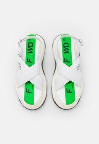 F_WD - Sandály na platformě - white - 4