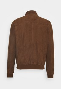 Serge Pariente - HANK - Leather jacket - tobacco - 1