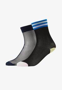 Hysteria by Happy Socks - FILIPPA ANKLE LONA CREW 2 PACK - Socks - multi - 1