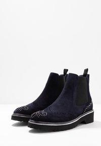 Pinto Di Blu - Classic ankle boots - bleu - 4